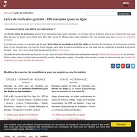 Modã Les Lettre De Motivation ã Tudiant Cover Letter Exle Lettre De Motivation Gratuit En Ligne