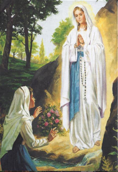 la devocion de la celebraciones de la virgen de lourdes en la di 243 cesis nuestra voz