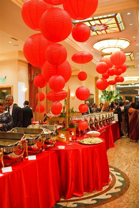 #SoniaSharmaEvents   Detailed Décor   Red   Pinterest   Events