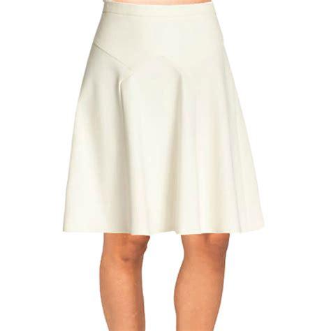 plus size skirt with yolk flared bottom elizabeth