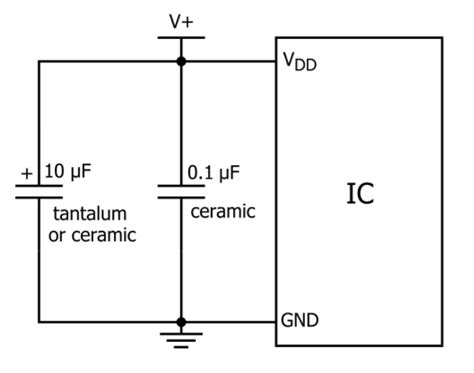decoupling capacitors function decoupling capacitor function 28 images power potentiometer with lm317 electrical