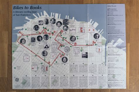 san francisco literary map san francisco literary map 28 images bikes to books