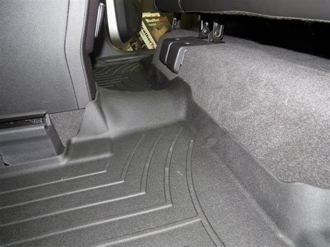2003 Ford Escape Floor Mats by Weathertech 2nd Row Rear Auto Floor Mat Black