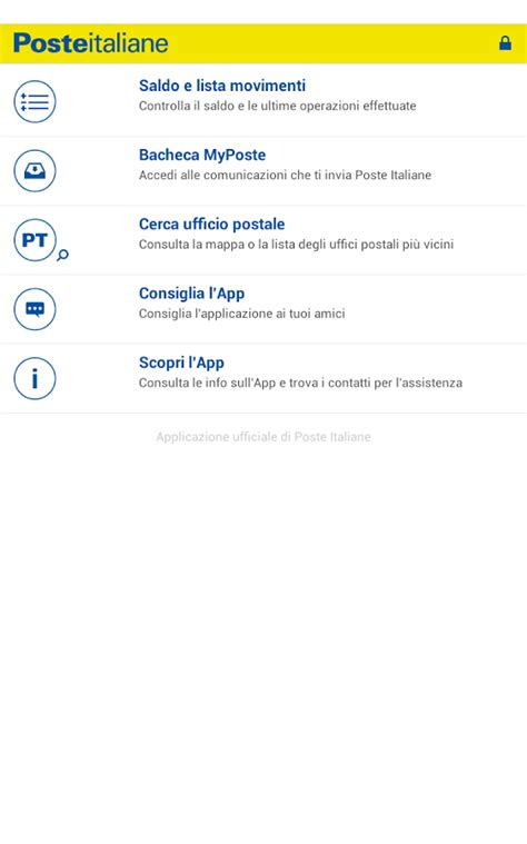 banco poste it conto bancoposta android apps on play