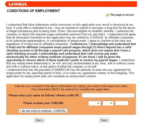printable job applications u haul how to apply for u haul jobs online at jobs uhaul com