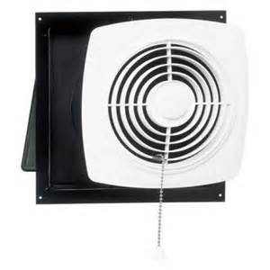 through wall bathroom exhaust fan broan nutone through wall pull chain utility ventilator