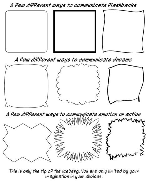 graphic novel template 8 best images about graphic novel comic on