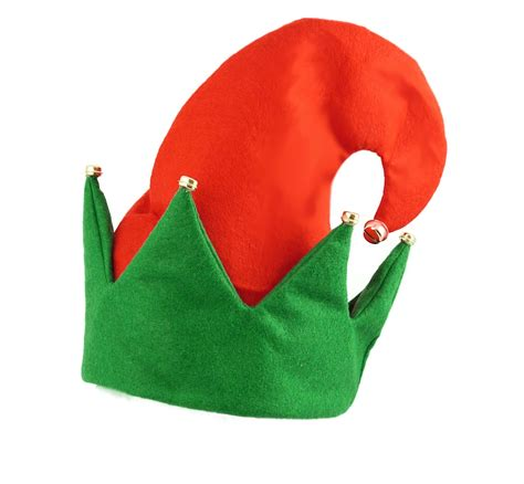christmas secret santa elf boots shoes hat with bells