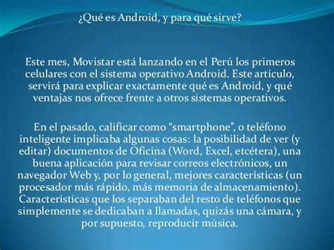layout android para que sirve sistema operativo android