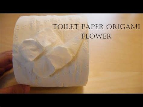 How To Make Toilet Paper Roses - 25 best ideas about toilet paper origami on