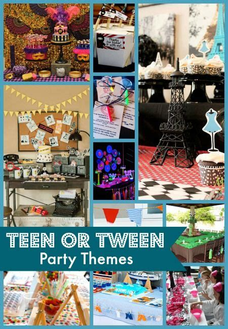 themes for 13th girl birthday parties 10 best teen or tween party themes teen birthday party