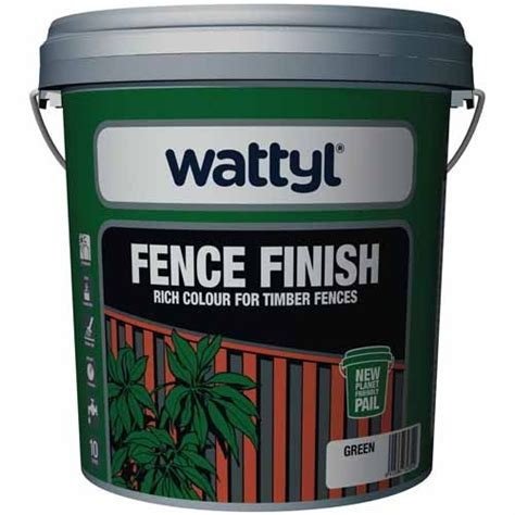 wattyl fence finish timber fences mitre 10