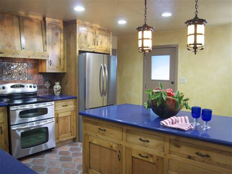 spanish style kitchen cabinets from outdated kitchen to colorful spanish style cocina