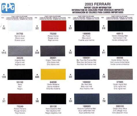 lamborghini grey paint code paint codes