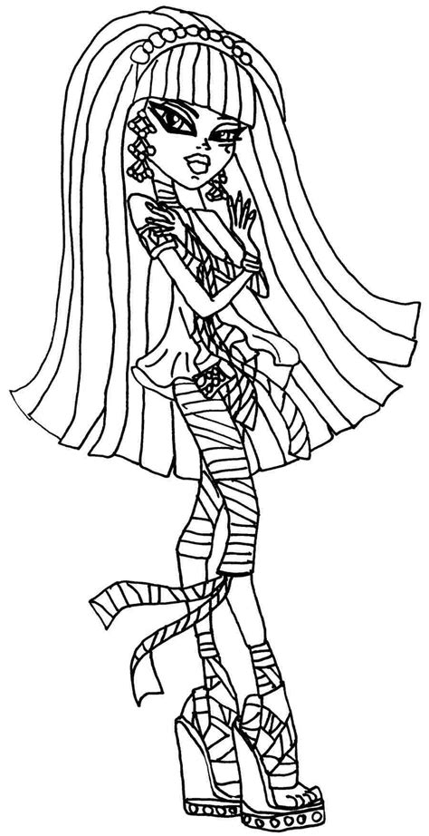monster high skullette coloring pages coloring pages for girls monster high monster high