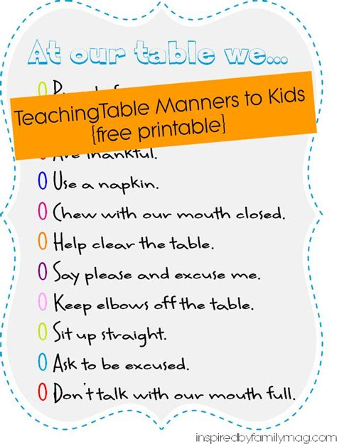 Important Aspects About Table Manners by Best 25 Table Manners Ideas On Etiquette