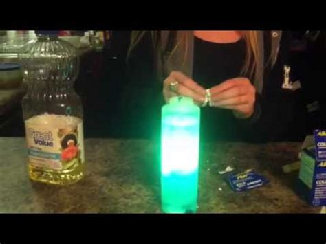 How To Make A Glow In The Lava L by How To Make A Homeade Lava L That Lights Up