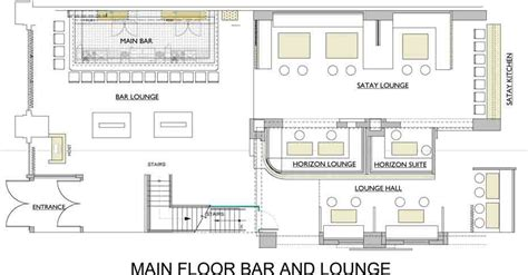 bar floor plan design lounge floor plan home design