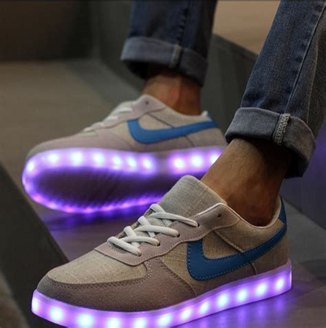 mens light up shoes led shoes size 36 44 led shoes light up for