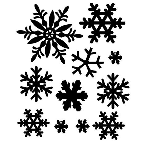 snowflake stencils for windows etched snowflakes window stickers by nutmeg notonthehighstreet