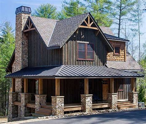 mountain vacation home plans plan 18733ck wrap around porch mountain vacations