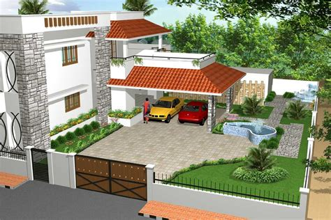 architectural home design by vimal arch designs category private houses type exterior fascinating garden houses in india ideas simple design