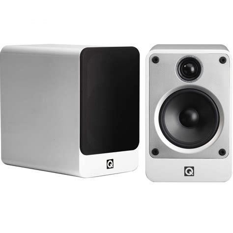 q acoustics concept 20 bookshelf speakers white pair