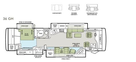 tiffin rv floor plans 2013 phaeton floor plan 36 gh tiffin motorhomes rv
