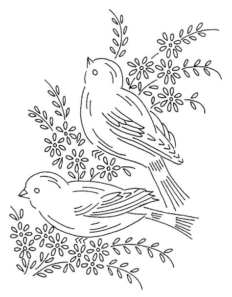embroidery design templates embroidery vintage birds vintage embroidery patterns