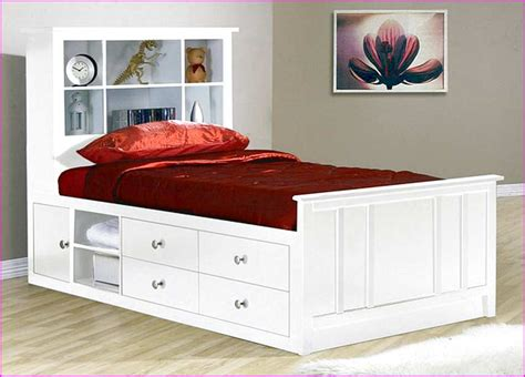 king single bed frame with storage xl bed frame with storage craftsdiy info