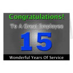 employee years of service cards photo card templates invitations more