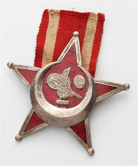 Ottoman Medals Ottoman War Medal Nzhistory New Zealand History