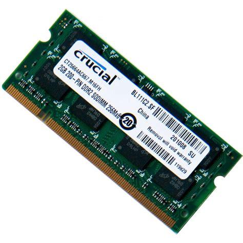 Berapa Ram 2gb Laptop memoria ram ddr3 2gb para laptop marca crucial nuevas bs