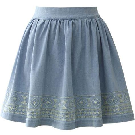the 25 best denim skater skirts ideas on blue