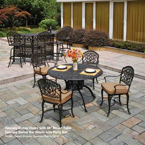 hanamint patio furniture price tuscany dining