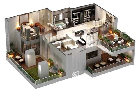plan 3d home design review villa6 3d house plans floor plans pinterest home