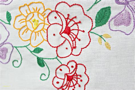 embroidery design for table cloth tablecloths inspirational hand embroidery patterns for