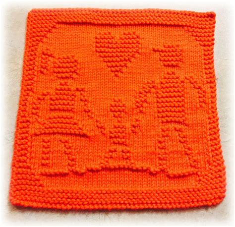 Handmade Knitting Patterns - family day dishcloth patterns i need to aquire