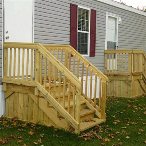 wood mobile home steps sha excelsior org