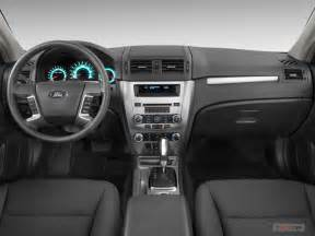 2012 ford fusion interior u s news world report