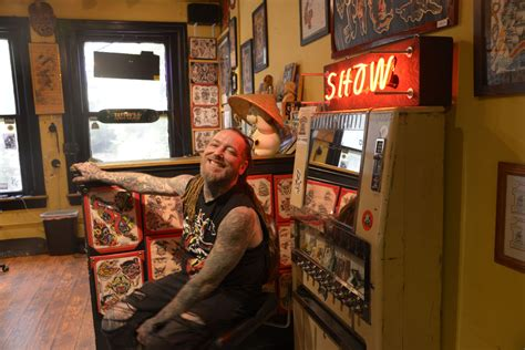 tattoo shops baltimore s inking baltimoreans on the block since 1938