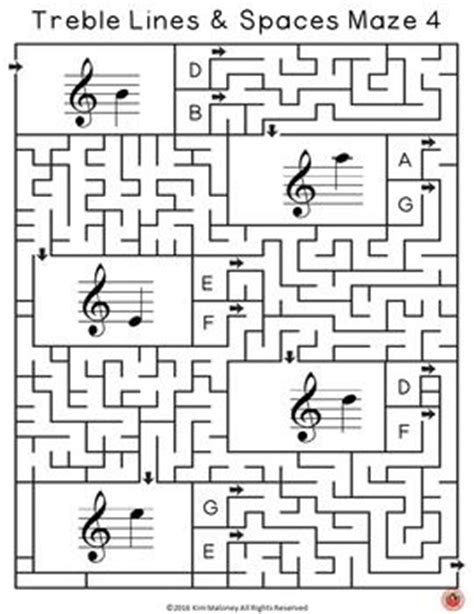 printable music maze 17 best ideas about music education on pinterest music