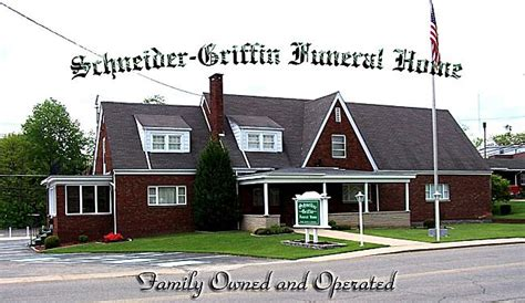 schneider griffin funeral home and monument company in
