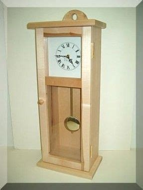 shaker wall  mantel clock vintage wall clock wooden