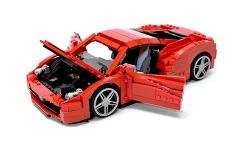 Lego Ferrari by Lego Ideas Ferrari 458 Italia
