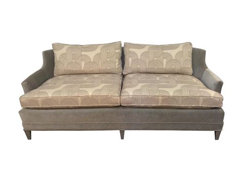 vintage henredon sofa henredon vintage gray velvet sofa chairish