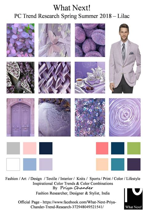 trend colour s s 2018 pantone colors trend lilac fashion pantone