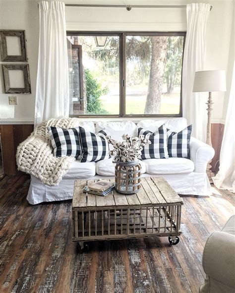 rustic living room curtains farmhouse living room decorating ideas billingsblessingbags org