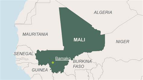 where is mali on the world map mali