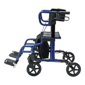 lumex hybrid lx combination rollator walker and transport
